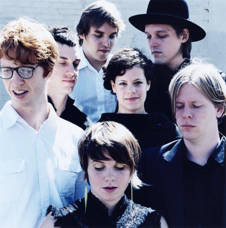 my space arcade fire: